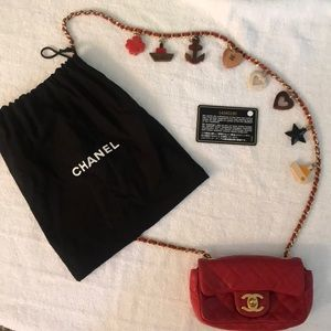 Chanel Cruise Mini with Charms Cross Body Bag
